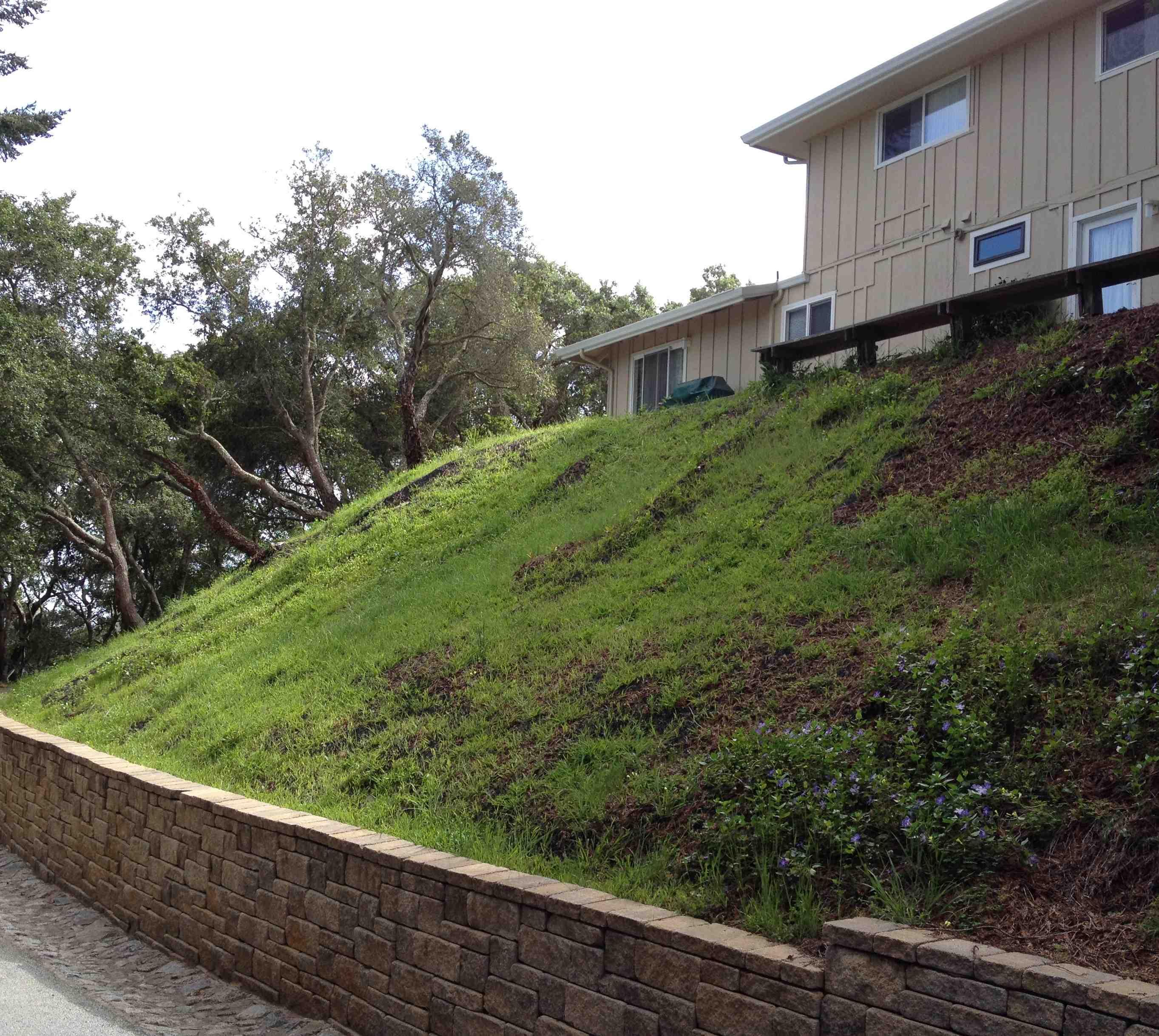 Avalon Structural Hillside Stabilization